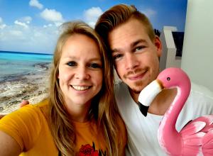Wij zijn Gijs en Femke en wij emigreren naar Bonaire