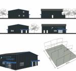 Grand nouveau bâtiment pour le centre de plongée De Beldert