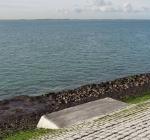 Visplateaus aangebracht rondom Zeelandbrug