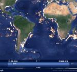 Global Fishing Watch. Kijk live mee hoe de wereld vist