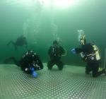 Nieuw duikplatform in de Boschmolenplas