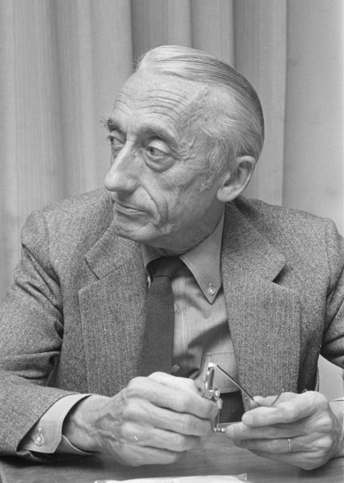 a biography of jacques yves cousteau a french scientist Jacques-yves cousteau ac (french: [ʒak iv kusto] commonly known in  and  researcher who studied the sea and all forms of life in water.