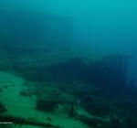 Storm Malta beschadigt kades en duikstekken