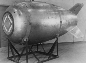 Duiker vindt oude 'Mark IV nuclear bomb'