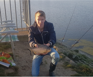 Piranha gevangen in Hollandsche IJssel