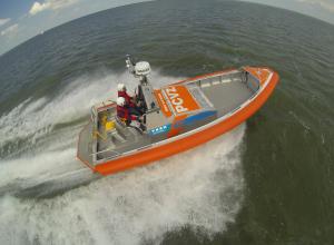 Zo oefent de KNRM het redden van duikers