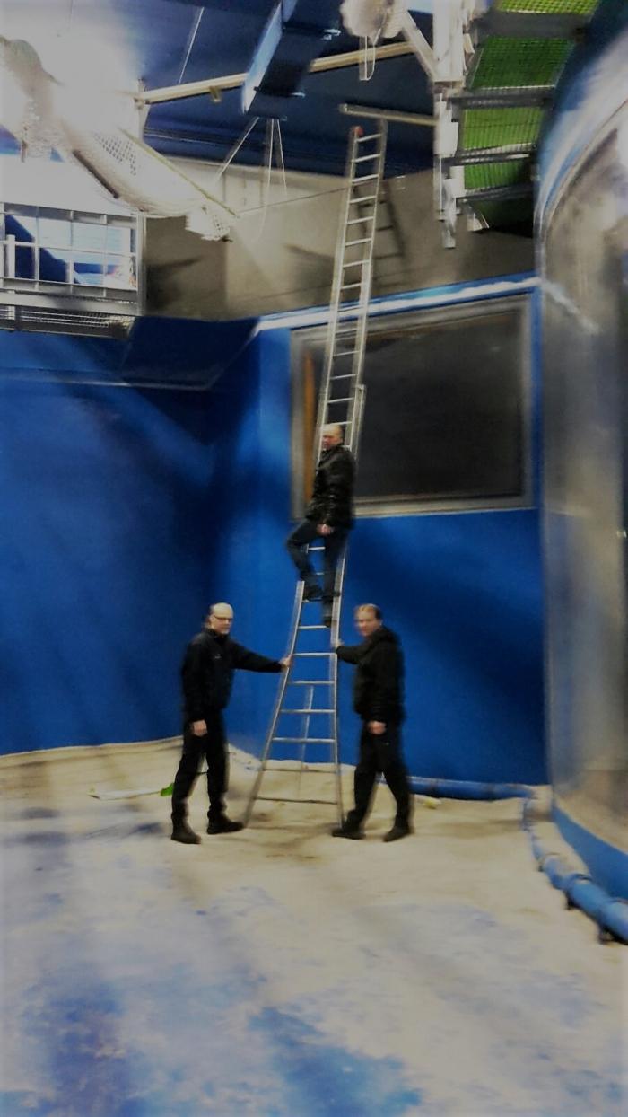 Project voor ombouw duikaquarium Emmen van start