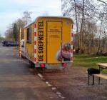 Proef met warme soep en broodjes bij Eiland 4 in Vinkeveen