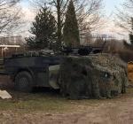 Wat doet dit legervoertuig bij De Beldert?