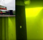 Eerste beelden zeecontainer Twiske