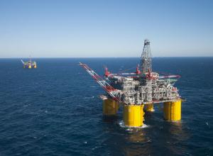 Tijdens offshore werk op de Noordzee gebeurt ineens dit.....