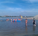 Kwart zwemwater in regio Rotterdam niet veilig