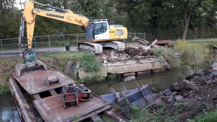 Stand van zaken brug De Baars