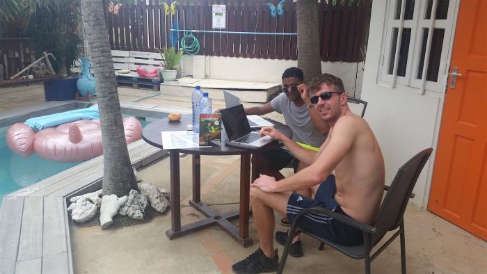 Duikersgids op werkvakantie in Bonaire
