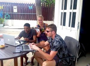 Duikersgids promotie op Bonaire