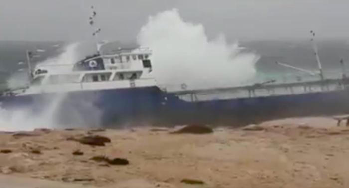 Olietanker strandt in Malta. Milieuschade dreigt