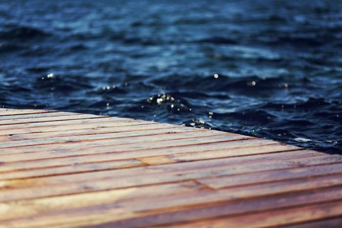 Nieuwe steiger Onderwaterpark Twiske