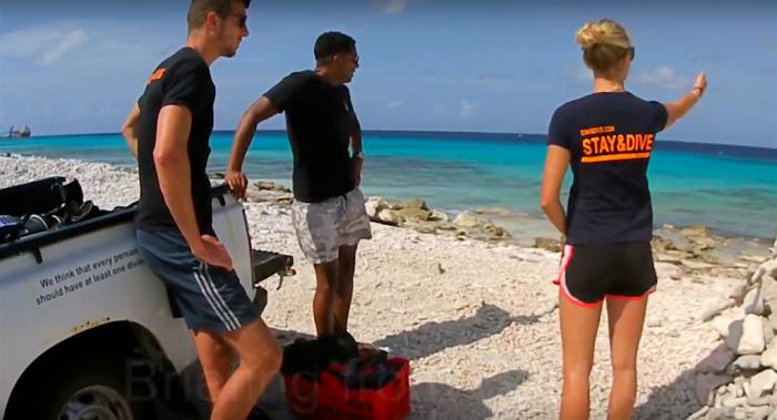 Duikersgids duik met Stay and Dive Bonaire