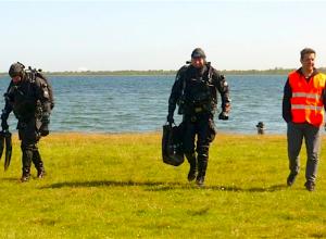 Klagende boswachter waarschuwt duikers bij Bommenede na bijna-ongeluk
