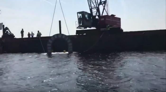 Groot kunstmatig onderwaterrif in Alphen