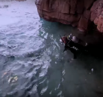 Man builds dive site in his own backyard