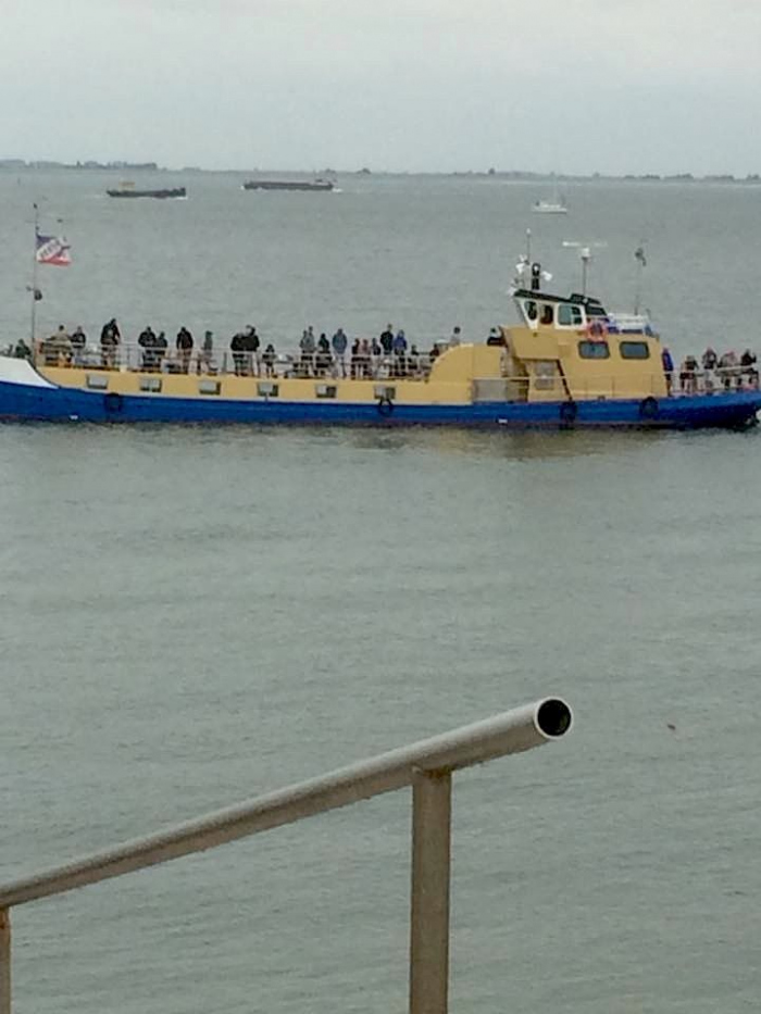 Bijna ongeval met meerdere duikers bij Galjoen Zonder Poen