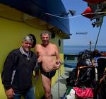 Duiken in de Noordzee met één been