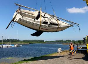 Nieuw wrak voor Onderwaterpark Twiske