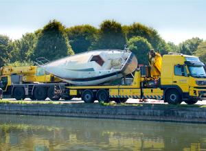 Nieuw zeilbootwrak Onderwaterpark Twiske
