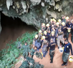 Rescue mission trapped Thai boys just started