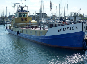 Schipper Beatrix 2 doet oproep aan sportduikers