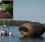 Steiger, silo en gemarkeerde duikroutes in aanleg in Onderwaterpark Twiske