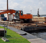 Werkzaamheden Eiland 4 tot half oktober