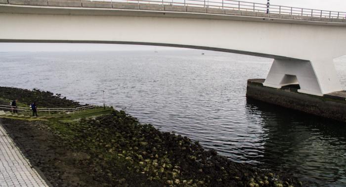 Duikstek Zeelandbrug tijdelijk gesloten