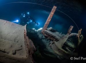 Nieuwe duikstek in België met open groeve en grot