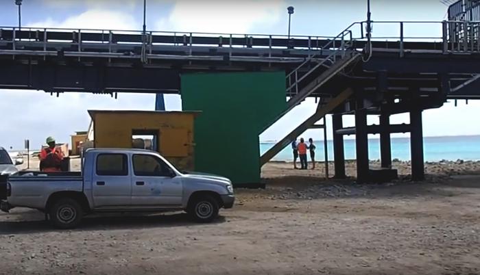 Salt Pier tijdelijk gesloten als gevolg van werkincident