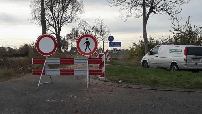 Tijdelijke afsluiting Straalweg Zeelandbrug