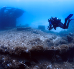 Storm Malta beschadigt Tug 2 en HMS Maori