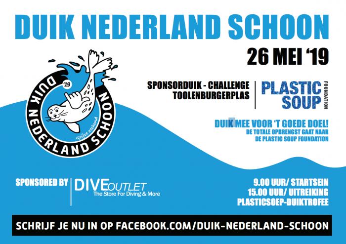 Eerste editie Duik Nederland Schoon Sponsorduik