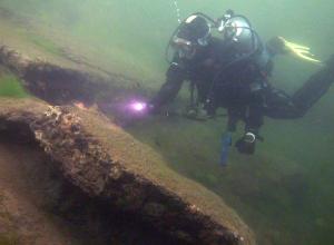 Onwaarschijnlijk zicht in duikstek Hagestein