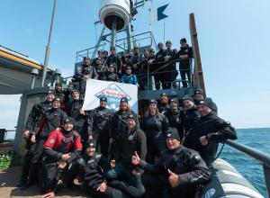 Duik de Noordzee Schoon gaat ramp MSC Zoë monitoren