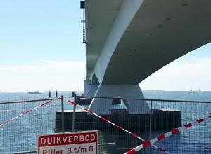 Duiken bij de Zeelandbrug mag weer vanaf morgen