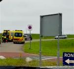 Traumahelikopter bij Jachthaven Den Osse