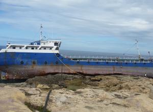 Gestrande tanker wordt nieuw duikwrak in Gozo