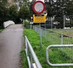 Bruggen Eiland 1 afgesloten in verband met groot onderhoud