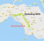 N59 Zierikzee weekend lang afgesloten