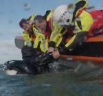 De redding van duikers. Oefening KNRM 2019