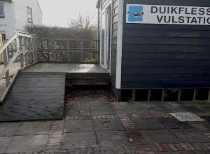 Even oppassen bij vulpunt Wolphaartsdijk
