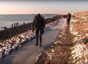 De winterduik van 28 december 2014