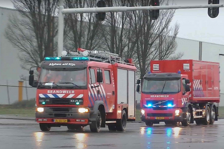 Brandweer rukt uit vanwege lichtjes in de Zegerplas